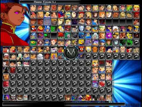 My Hi-Res Mugen ScreenPack W I P