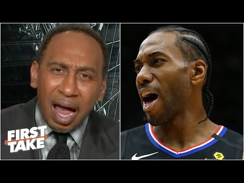 Stephen A. goes OFF on Kawhi: You owe the Clippers! | First Take