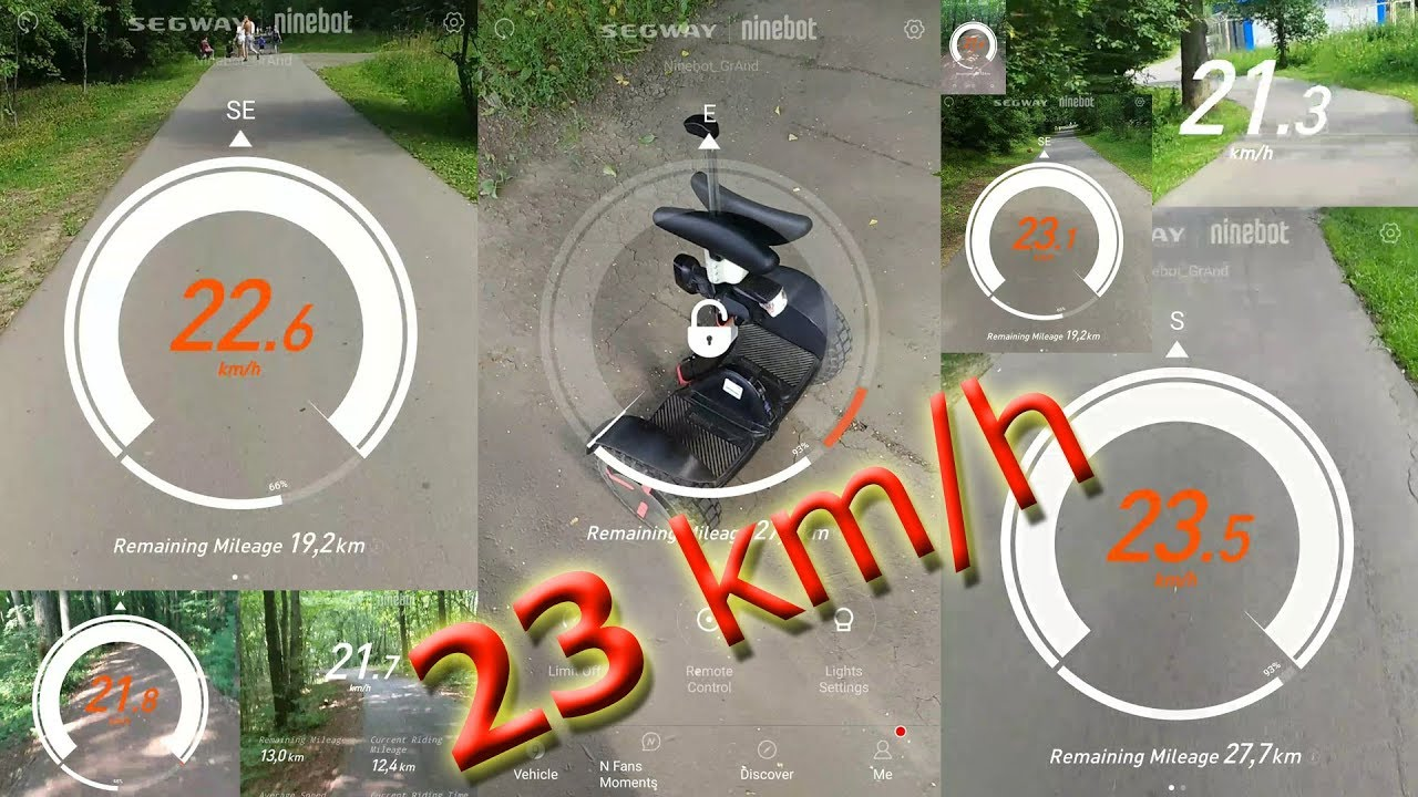 *UNLOCKED SPEED 25km//h* Segway Ninebot Mini Pro Control Mother Board Replacement