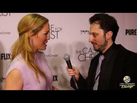 Red-Carpet Interview - Erika Christensen, The Case for Christ
