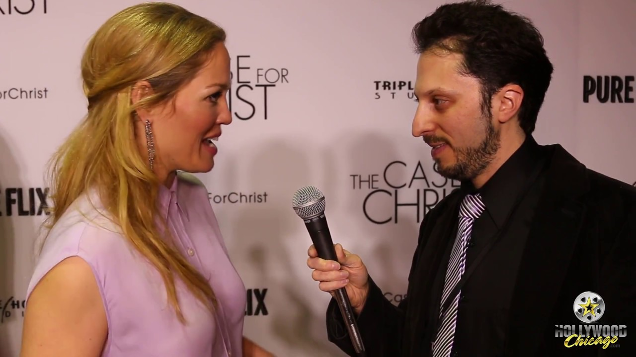 Red Carpet Interview Erika Christensen The Case For Christ Youtube