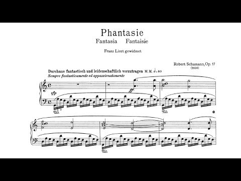 Cyprien Katsaris  Schumann: Phantasie in C Major, Op 17