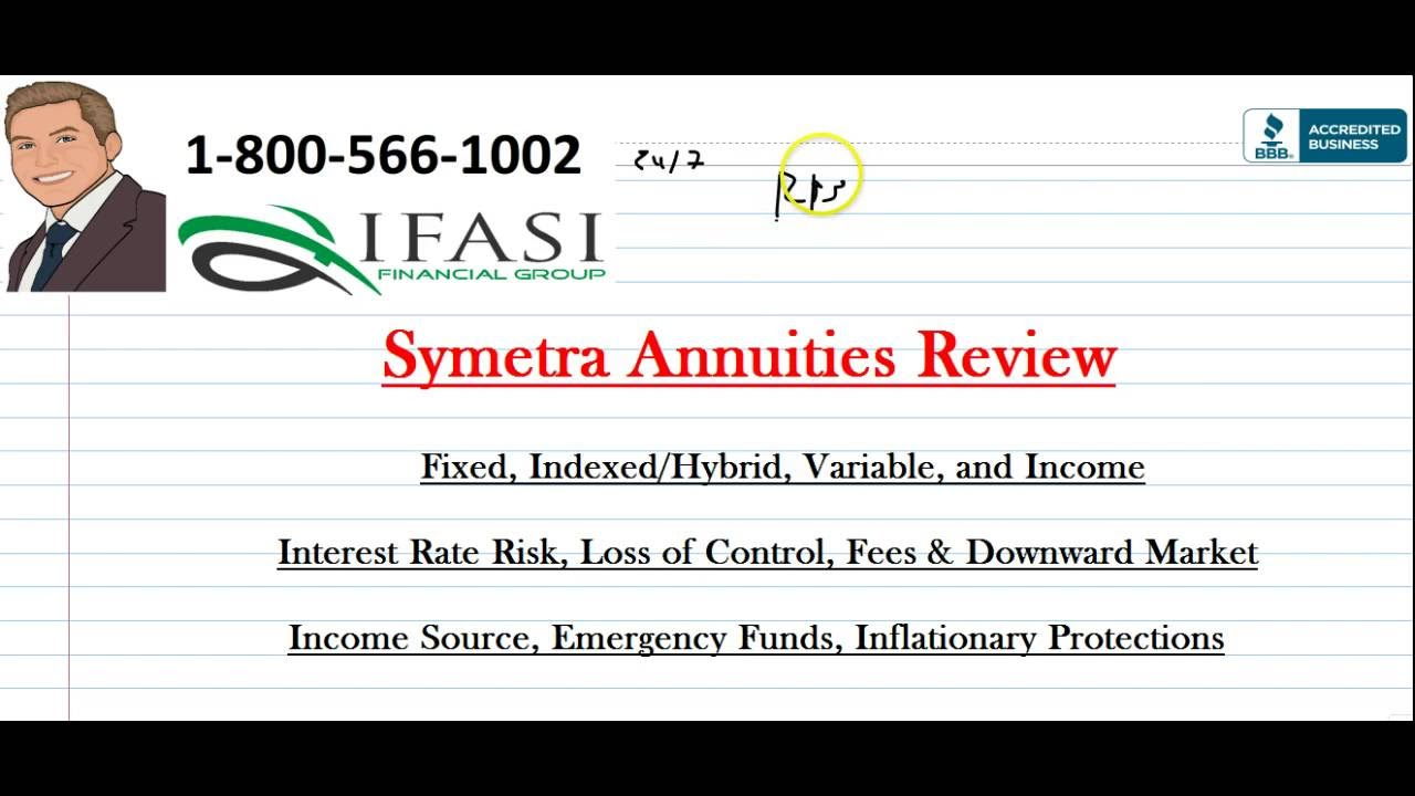 Symetra Annuities Review