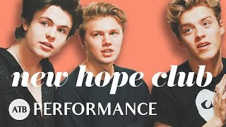 NEW HOPE CLUB Performs 'WATER' Acoustic