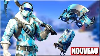 THE FIRST WINTER SKIN! PACK OF SKIN FROID ÉTERNEL ON FORTNITE!