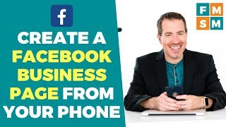 How To Create A Facebook Business Page From A Smartphone