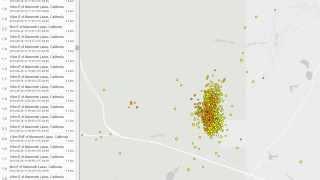 Massive Earthquake Swarm at 'Mammoth Lakes' In California's Long Valley Caldera!