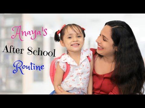 Ana's After School Routine | #Kids #MyMissAnand #Fun #Vlog #DIML #ShrutiArjunAnand