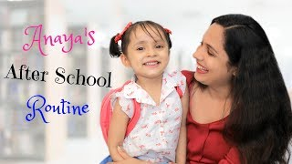 Ana's After School Routine | #Kids #MyMissAnand #Fun #Vlog #DIML #ShrutiArjunAnand