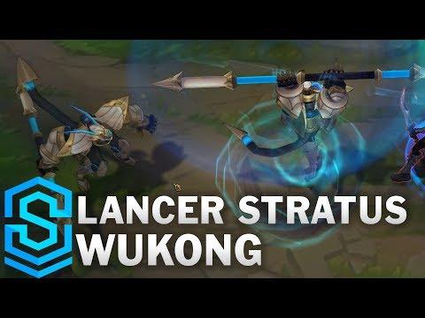 Lancer Stratus Wukong Skin Spotlight - Pre-Release - League of Legends