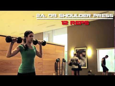 Women Workout : Upper body / arm toning workout