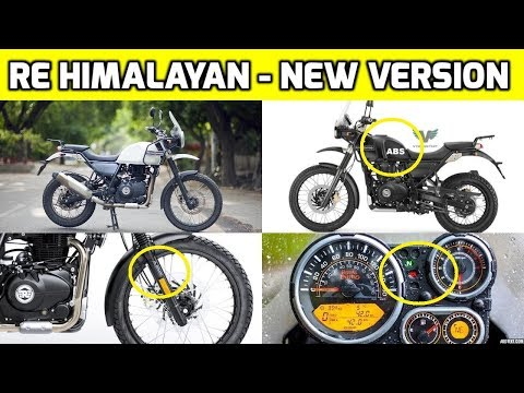 Royal Enfield Himalayan New Version Launched Royal Enfield
