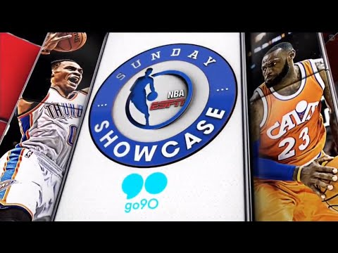NBA Sunday Showcase On ABC Theme: CLE Vs OKC