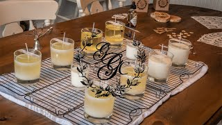 GGC's New Luxury Soy Wax Candle Range - Vintage Promo!