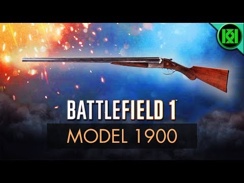 Battlefield 1: Model 1900 Review (Guide) | New BF1 DLC Weapons | BF1 Double Barrel Shotgun
