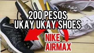 200 PESOS UKAY UKAY SHOES! (Where to buy ?)
