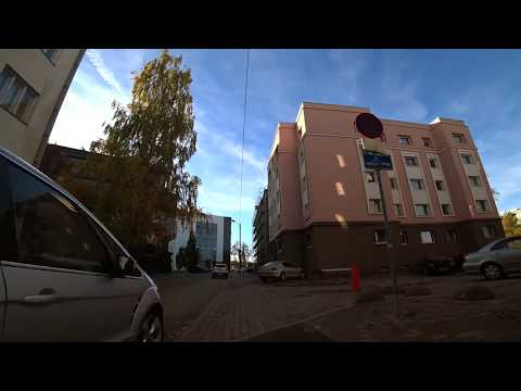 Sony FDR x3000 bicycle test in Tallinn - October 2017