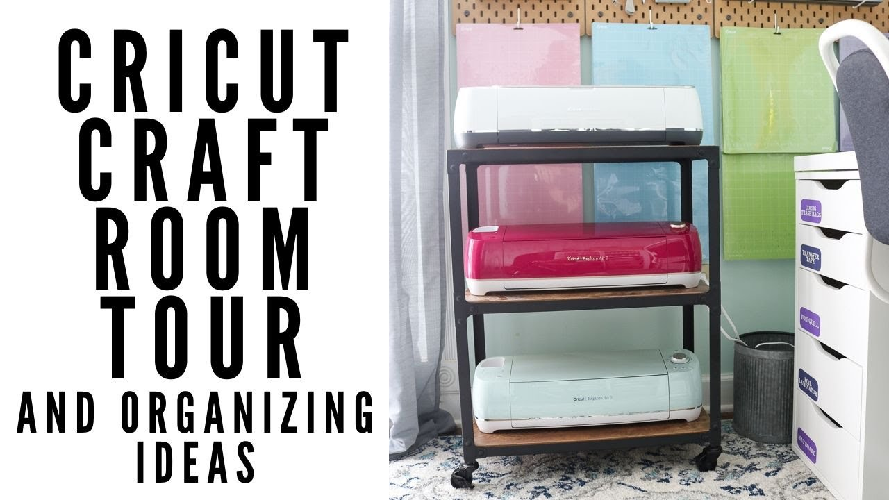 Cricut Craft Room Ideas For Organizing The Country Chic Cottage
