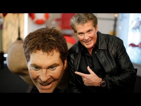 The Hoff Auctions Off Giant Statue Of Himself For Charity