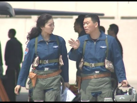 China's Female Fighter Pilots Fly Fighter Bombers