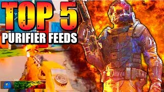 Black Ops 3 - Top 5 PURIFIER FLAMETHROWER FEEDS - BO3 Community Top Five #6