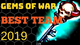 Best team for 2019 | Gems of War best team | Current meta | 3 trophy pvp wins with no mythics