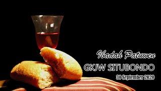Ibadah Patuwen GKJW Situbondo || Menjadi Pembawa Kabar Baik || 30 September 2020