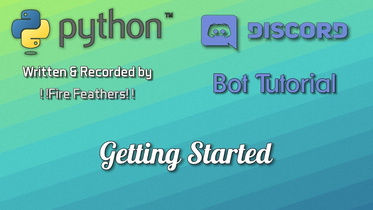 Python bot tutorial getting started ep 2 youtube python bot tutorial getting started ep 2 baditri Images