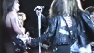 "Bon Jovi w/ Skid Row, Billy Squier, Sam Kinnison - ""Wild Thing"" - 6-11-89 - Giants Stadium, NJ"