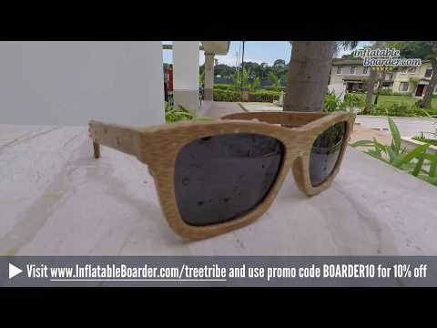 Floating Tree Tribe Bamboo Sunglasses Review + Discount Code