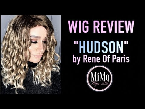 Rene Of Paris HUDSON (Melted Marshmallow) | WIG REVIEW | MiMo Wigs | ALOPECIA | Bald Barbie