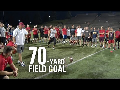 Andrew Baggett | 70-Yard Field Goal | NFL Draft Eligible Kicker