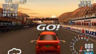 Sega GT Game Sample - Dreamcast