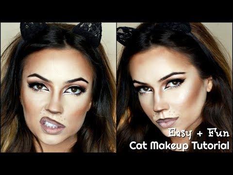21 Cat Makeup Ideas For Halloween How To Do Cat Face Makeup