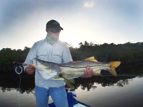 Fly Fishing Everglades Snook, Tarpon, Redfish Spring 2014
