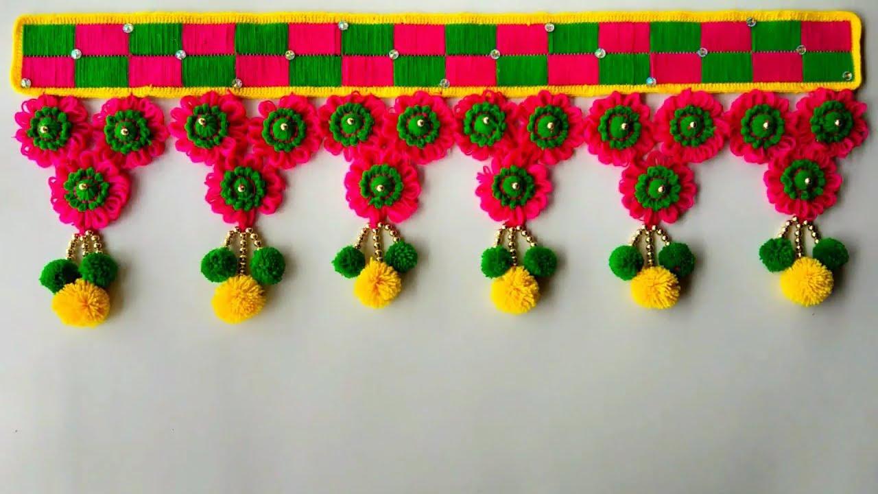Image result for घर के लिए बनाएं, ऐसे Toran Designs