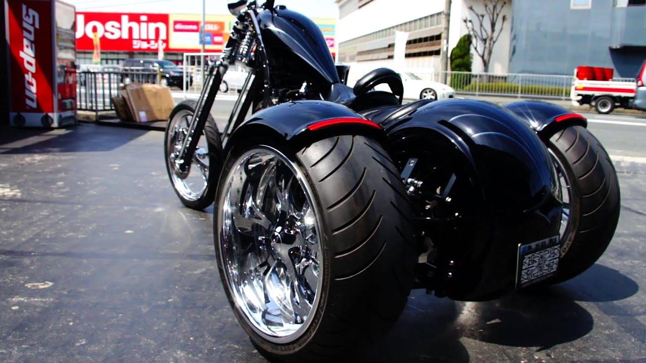 Honda CB750 custom military - YouTube