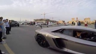 SuperSprint 2016 - Exotic Car Rally in Dubai