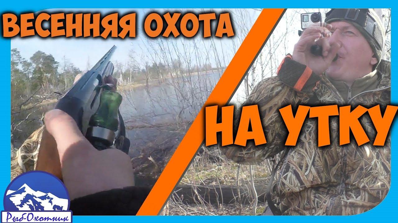 Открытие весенней охоты на утку 2020 май месяц