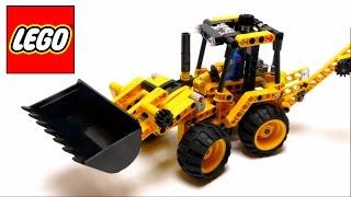 Lego Technic - Mini Backhoe Loader - 42004 - Assembly Instructions Video
