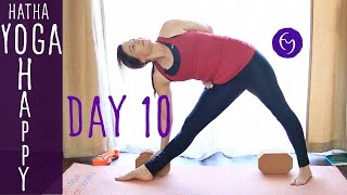 Day 10 Hatha Yoga Happiness: Never take anyone personally with Fightmaster Yoga