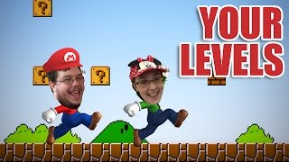 playing your mario levels! 1/2