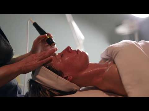 Microdermabrasion and Cold Laser Light Therapy