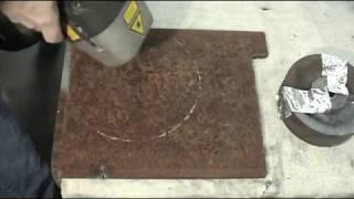 CL1000 Watt Laser Rust Removal  amp  Fingernail Cleaning