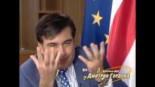 """Саакашвили: Путин меня предупреждал, что """"мы будем с вами воевать"""""""