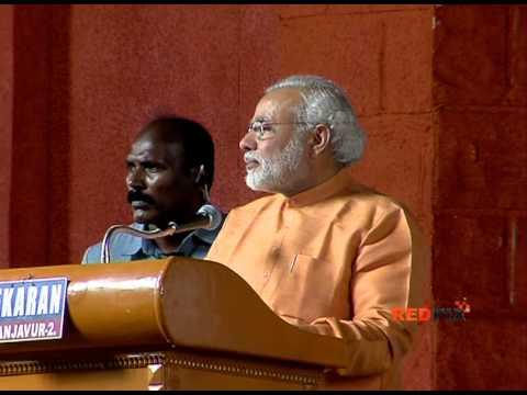 Narendra Modi Speech @ Trichy Part -- III -- Red Pix