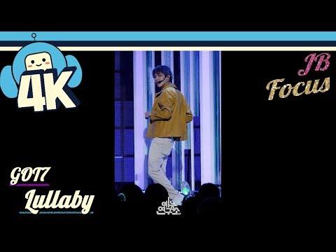 [4K & Focus Cam] GOT7 - Lullaby (JB Focus) @Show! Music Core 20180922