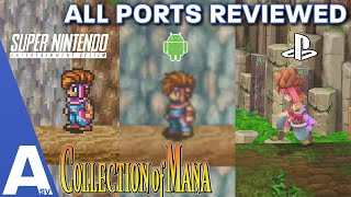Which Versions of the First 3 Mana Games Should You Play? - The Collection of Mana Port Review