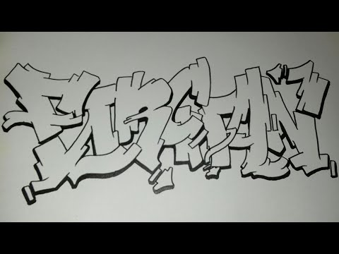 Graffiti Kertas Request Nama Farchan Youtube