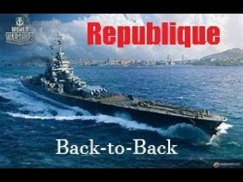 World of Warships - Republique - Back-to-Back